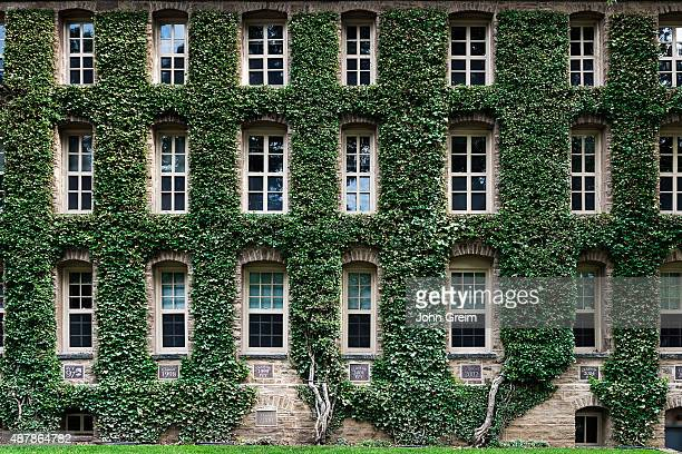 Nassau Hall ivy Princeton University Campus