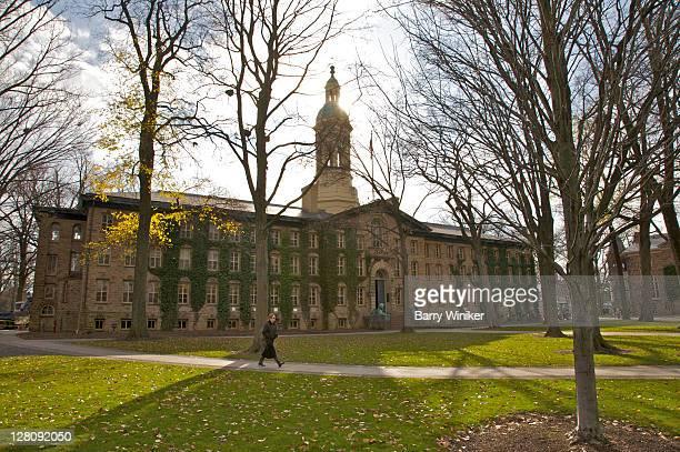 Nassau Hall, oldest building on Princeton campus, 1754, Princeton University, Princeton, NJ, USA
