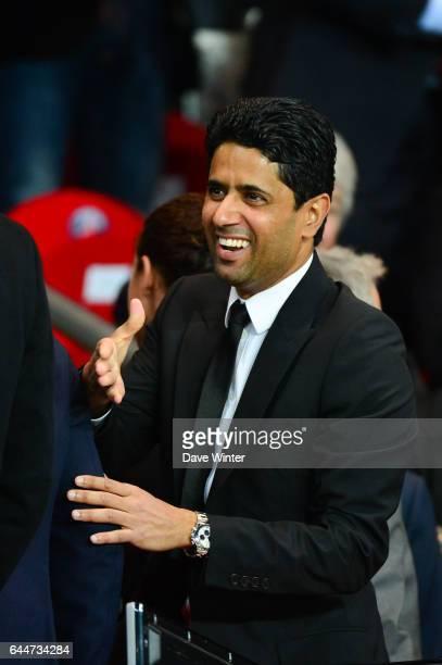 Nasser AL KHELAIFI Paris Saint Germain / Chelsea 1/4Finale Aller Champions League Photo Dave Winter / Icon Sport