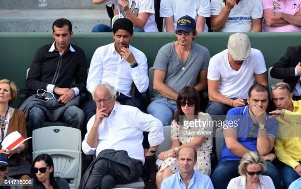 Nasser AL KHELAIFI Roland Garros 2013 Photo Dave Winter / Icon Sport