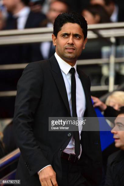 Nasser AL KHELAIFI Paris Saint Germain / Rennes 36eme journee de Ligue 1 Photo Dave Winter / Icon Sport