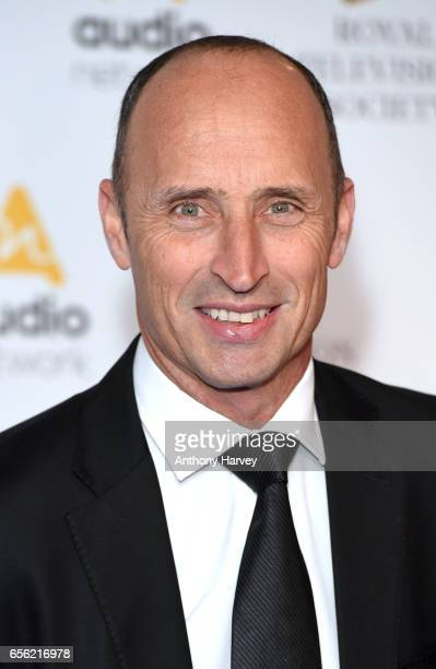 Nasser Hussain attends the Royal Television Society Programme Awards on March 21 2017 in London United Kingdom