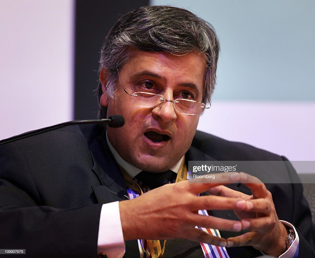 Nasser Munjee, chairman of Development Credit Bank Ltd., speaks at the 6th World Islamic Economic Forum (WIEF), in Kuala Lumpur, Malaysia, on Thursday, May 20, 2010. The forum concludes today. Photographer: Goh Seng Chong/Bloomberg via Getty Images