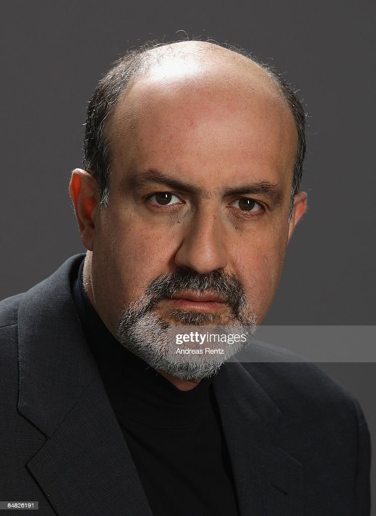 Nassim Nicholas Taleb, Author, Philosopher and Investment Strategist, looks on during a portrait session at the Digital Life Design (DLD) conference on January 27, 2009 in Munich, Germany. DLD brings together global leaders and creators from the digital world.