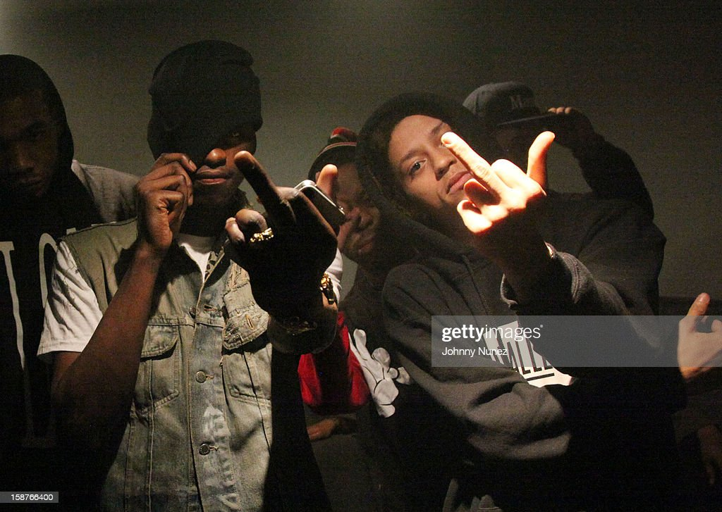 Nast and A$AP Illz attend the Highline Ballroom on December 27, 2012 in New York City.