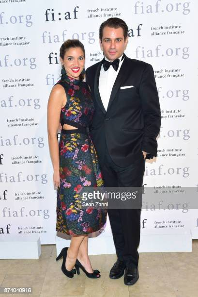 Nastassja Balick Coppers and Anthony Coppers attend Sidney Toledano and Peter Marino being honored at French Institute Alliance Francaise's Trophee...