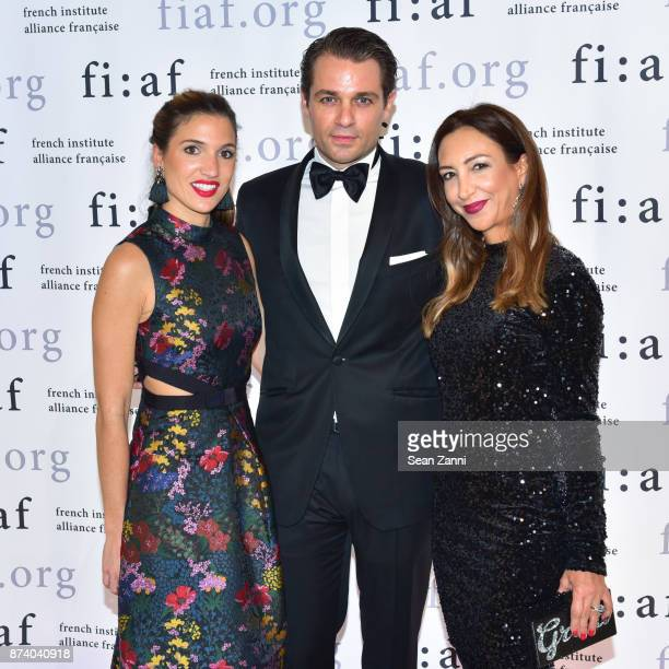 Nastassja Balick Coppers Anthony Coppers and Vanessa Landau attend Sidney Toledano and Peter Marino being honored at French Institute Alliance...