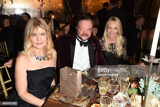Nastassja Kinski Alexander Zu SchaumburgLippe attends Bulgari High Jewelry Event St Moritz on February 14 2015 in St Moritz Switzerland
