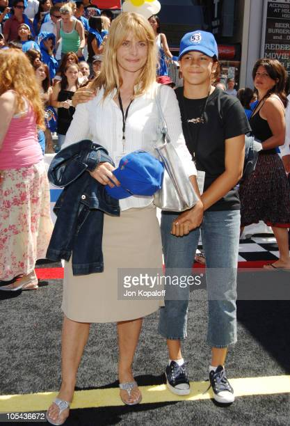 Nastassja Kinski and daughter Kenia during 'Herbie Fully Loaded' Los Angeles Premiere Arrivals at El Capitan Theater in Hollywood California United...
