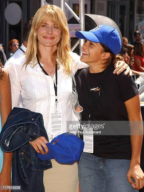 Nastassja Kinski and daughter Kenia Jones during 'Herbie Fully Loaded' Los Angeles Premiere Arrivals at El Capitan Theater in Hollywood California...