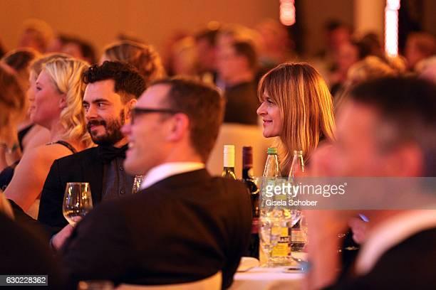 Nastassja Kinski and Ilja Russo during the 'Sportler des Jahres 2016' Gala at Kurhaus on December 18 2016 in BadenBaden Germany