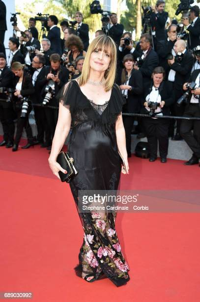 Nastassja Kinski attends the 'Based On A True Story' premiere during the 70th annual Cannes Film Festival at Palais des Festivals on May 27 2017 in...