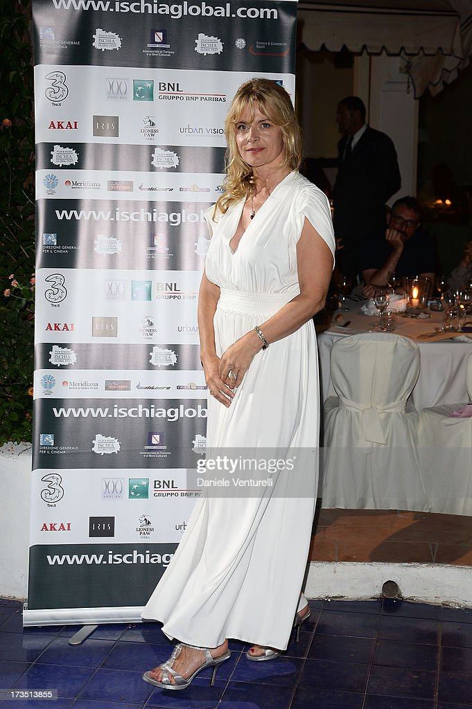Nastassja Kinski attends the Day 3 of Ischia Global Fest 2013 on July 15, 2013 in Ischia, Italy.