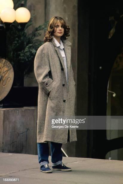 Nastassja Kinski on set in New York 1981