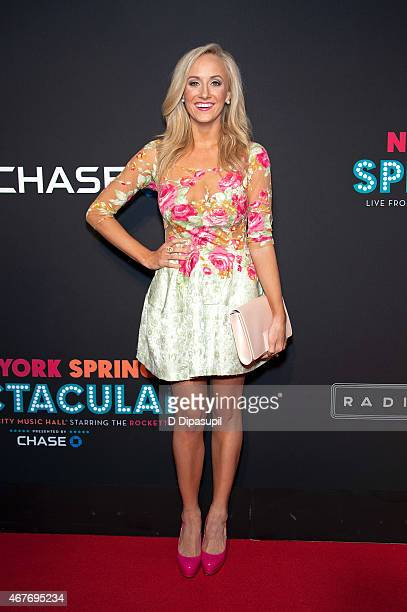 Nastia Liukin attends the 2015 New York Spring Spectacular Opening Night at Radio City Music Hall on March 26 2015 in New York City