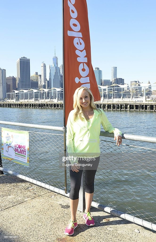 <a gi-track='captionPersonalityLinkClicked' href=/galleries/search?phrase=Nastia+Liukin&family=editorial&specificpeople=241334 ng-click='$event.stopPropagation()'>Nastia Liukin</a> attends the Nickelodeon And Brooklyn Bridge Park Host Mini-Triathlon on September 19, 2013 in New York City.