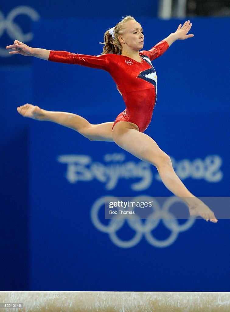Nastia Liukin of the USA performs on the balance beam during qualification for the women's artistic gymnastics event held at the National Indoor Stadium during Day 2 of the 2008 Summer Olympic Games on August 10, 2008 in Beijing, China.