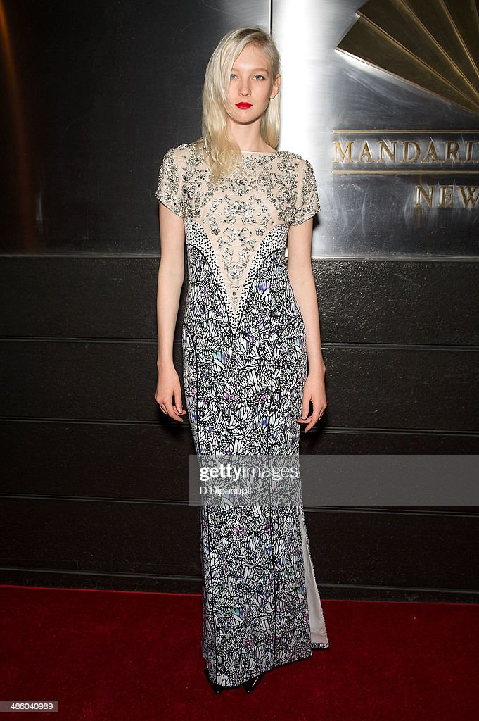 Nastya Sten attends the New Yorkers For Children's 11th Anniversary A Fool's Fete Spring Dance at the Mandarin Oriental Hotel on April 21, 2014 in New York City.