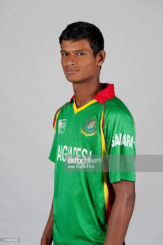 Nasum Ahmed of Bangladesh poses during a ICC U19 Cricket World Cup 2012 portrait session at Allan Border Field on August 6, 2012 in Brisbane, Australia.
