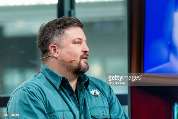 Nat Geo WILD host David Mizejewski discusses 'Pet Talk' with the build series at Build Studio on March 21 2017 in New York City