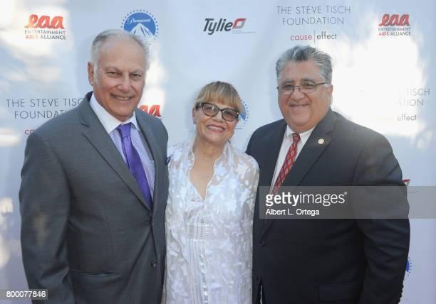 Nat Rubinfeld Alma Rubinfeld and Senator Anthony Portantino attend the Entertainment AIDS Alliance's Annual EAA Wine Wisdom Vision Event Benefiting...