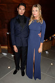 Nat Weller and Laura Whitmore attend the launch party as Mondrian London opens its doors on London's South Bank at Mondrian Hotel on October 9 2014...