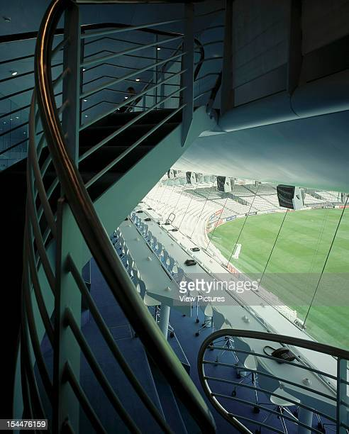 Nat West Media Centre Lords Cricket Ground London United Kingdom Architect Future Systems Nat West Media Centre Lords Cricket Ground