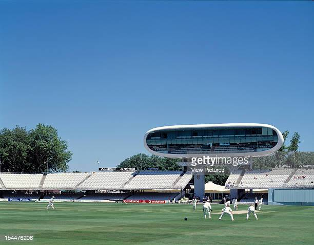 Nat West Media Centre Lords Cricket Ground London United Kingdom Architect Future Systems Nat West Media Centre Lords Cricket Ground Cricket Game In...