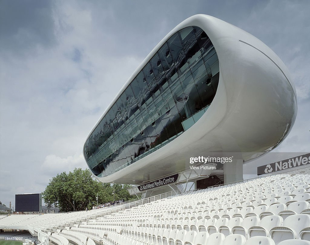 Nat West Media Centre Lords Cricket Ground London United Kingdom Architect Future Systems Nat West Media Centre Lords Cricket Ground Landscape...