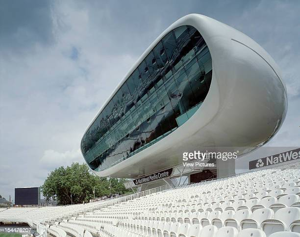 Nat West Media Centre Lords Cricket Ground London United Kingdom Architect Future Systems Nat West Media Centre Lords Cricket Ground Landscape...