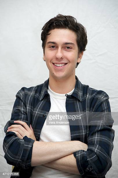 Nat Wolff at the 'Paper Towns' Press Conference at The London Hotel on April 24 2015 in West Hollywood California