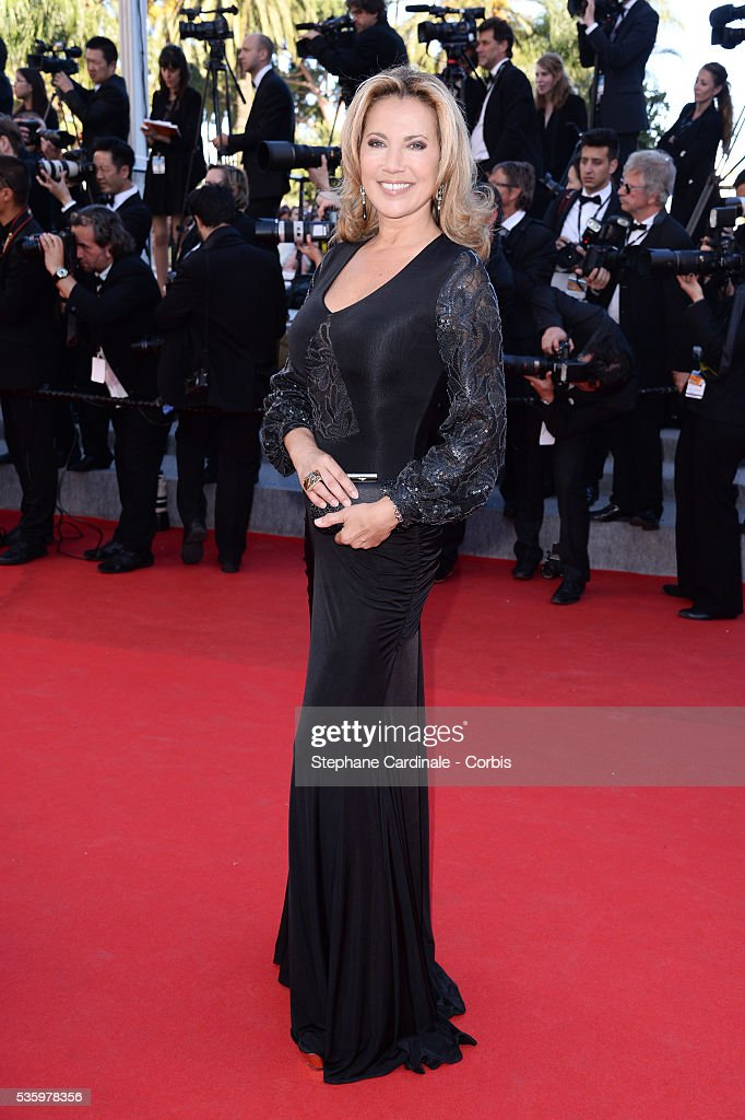 Natacha Amal at the Closing ceremony and 'A Fistful of Dollars' screening during 67th Cannes Film Festival