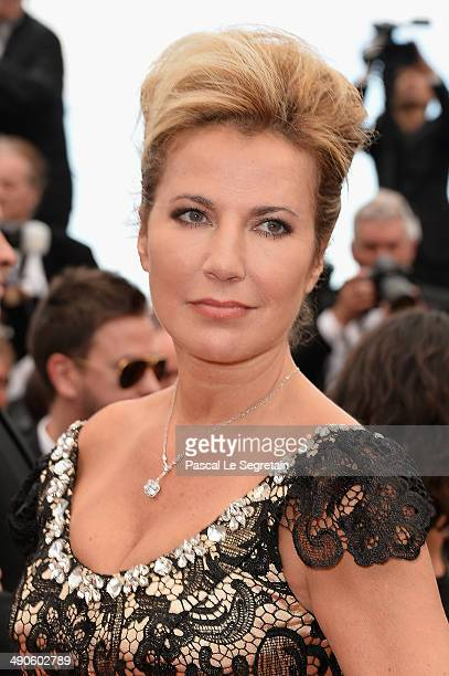 Natacha Amal attends the Opening Ceremony and the 'Grace of Monaco' premiere during the 67th Annual Cannes Film Festival on May 14 2014 in Cannes...