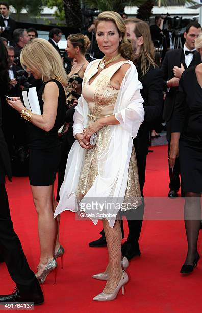 Natacha Amal attends the 'Saint Laurent' Premiere at the 67th Annual Cannes Film Festival on May 17 2014 in Cannes France