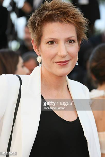Natacha Polony attends a screening of 'The Last Face' at the annual 69th Cannes Film Festival at Palais des Festivals on May 20 2016 in Cannes France