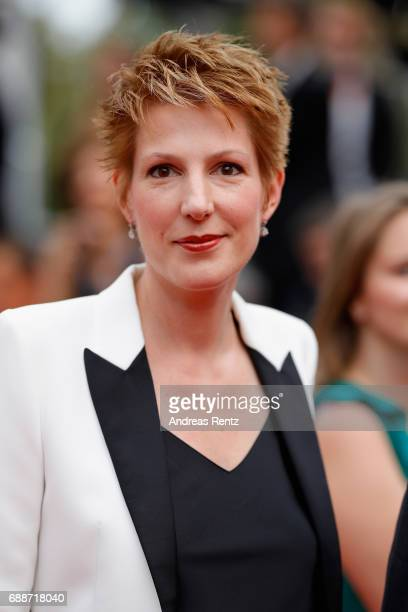 Natacha Polony attends 'Amant Double ' Red Carpet Arrivals during the 70th annual Cannes Film Festival at Palais des Festivals on May 26 2017 in...