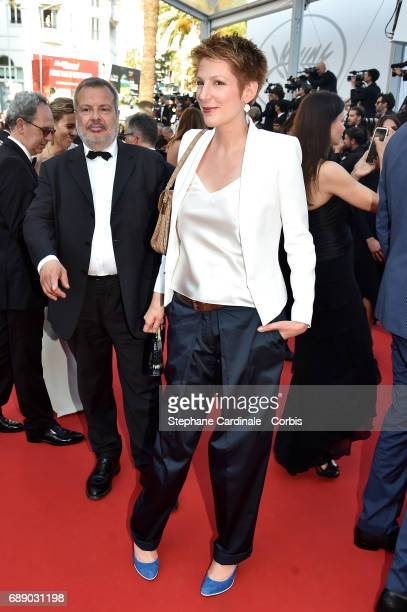 Natacha Polony attends the 'Based On A True Story' premiere during the 70th annual Cannes Film Festival at Palais des Festivals on May 27 2017 in...