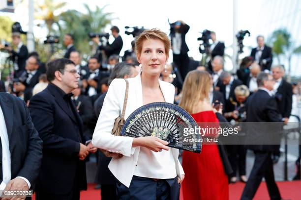 Natacha Polony attends the 'Based On A True Story' screening during the 70th annual Cannes Film Festival at Palais des Festivals on May 27 2017 in...