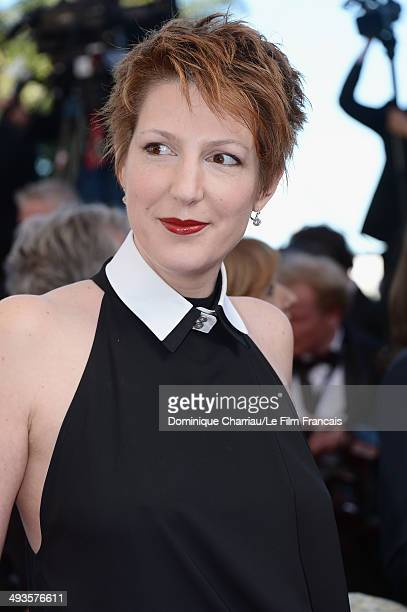 Natacha Polony attends the Closing Ceremony and 'A Fistful of Dollars' Screening during the 67th Annual Cannes Film Festival on May 24 2014 in Cannes...