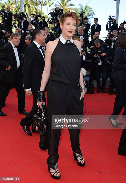 Natacha Polony attends the Closing Ceremony and Fistful of Dollars Screening at the 67th Annual Cannes Film Festival on May 24 2014 in Cannes France