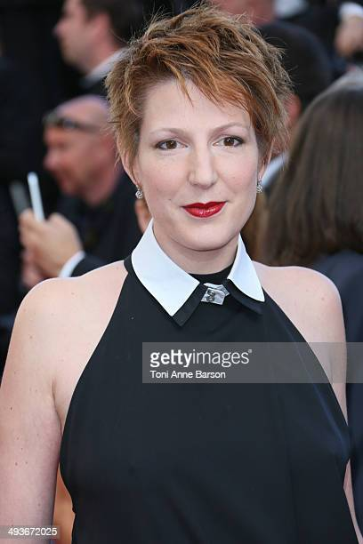 Natacha Polony attends the closing ceremony and 'Fistful of Dollars' screening at the 67th Annual Cannes Film Festival on May 24 2014 in Cannes France