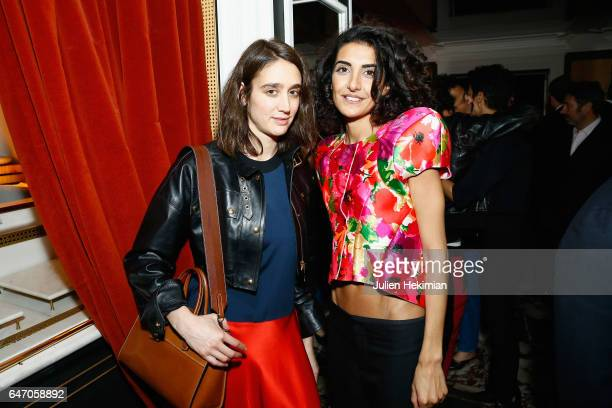 Natacha RamsayLevi and Brune Buonoman attend the Mastermind Magazine launch dinner as part of Paris Fashion Week Womenswear Fall/Winter 2017/2018 at...