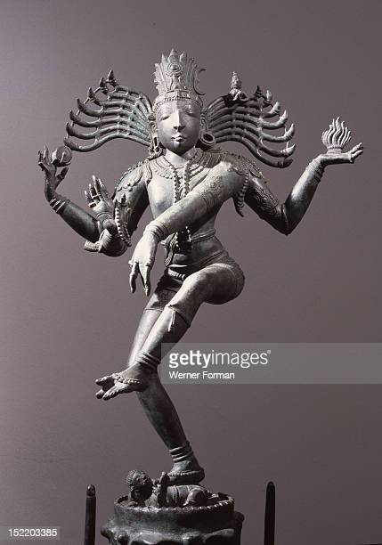 Natajara the Lord of the Dance a depiction of Lord Shiva as the cosmic dancer India Hindu