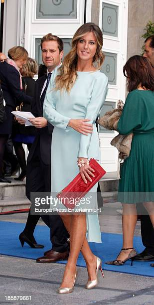 Natalia Alvarez attends the Prince of Asturias Awards 2013 ceremony on October 25 2013 in Oviedo Spain