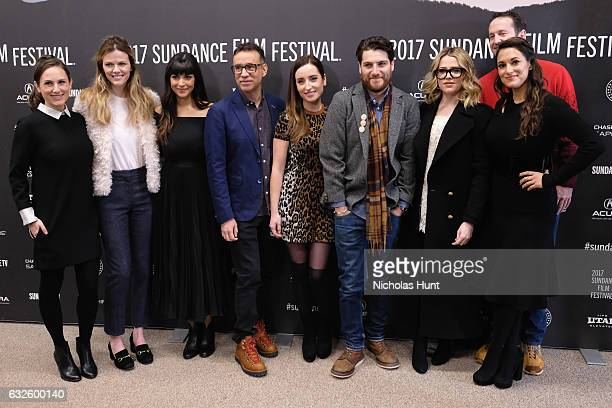 Natalia Anderson Brooklyn Decker Hannah Simone Fred Armisen director Zoe ListerJones Adam Pally Majandra Delfino Angelique Cabral and Sundance Film...