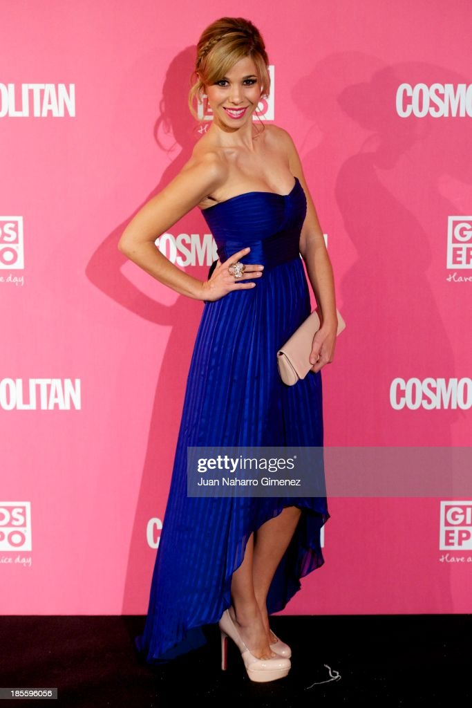 Natalia attends the Cosmopolitan Fun Fearless Female Awards 2013 at the Ritz Hotel on October 22, 2013 in Madrid, Spain.