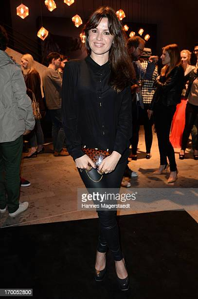 Natalia Avelon attends Porsche Design Sport Mountain Loft at University of Television and Film Munich on June 6 2013 in Munich Germany