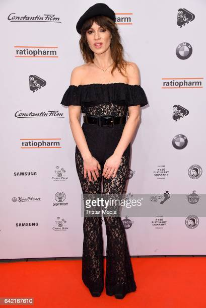 Natalia Avelon attends the 99FireFilmsAward at Admiralspalast on February 16 2017 in Berlin Germany