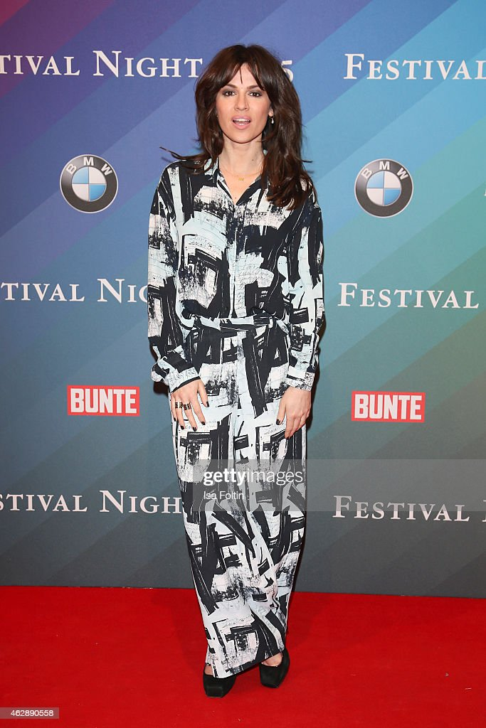 Natalia Avelon attends the Bunte BMW Festival Night 2015 on February 06 2015 in Berlin Germany