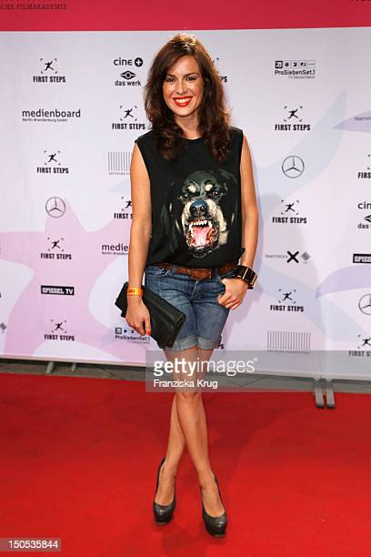 Natalia Avelon attends the 'First Step Awards 2012' in the Stage Theater Potsdamer Platz on August 20 2012 in Berlin Germany